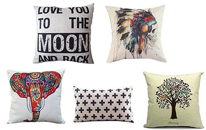 Throw Pillow Covers from $1.19 **Lots of Options Available**