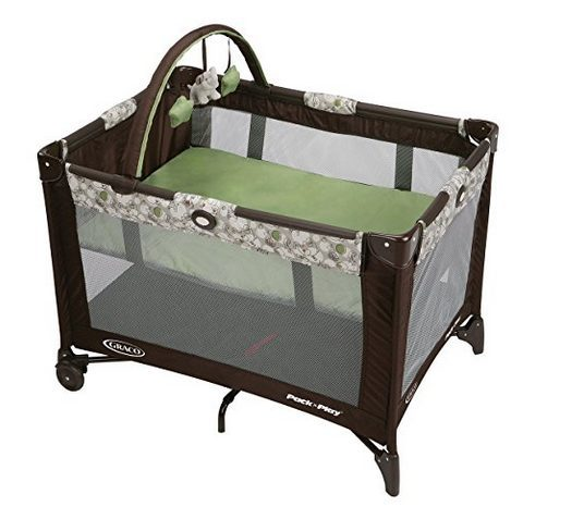 Graco Pack N Play Playard with Automatic Folding Feet $46 (Was $80)