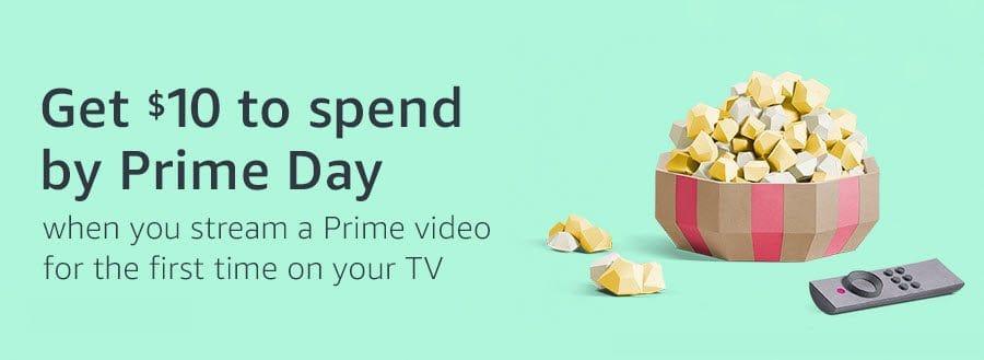 FREE $10 Amazon Credit When You Stream Prime Video