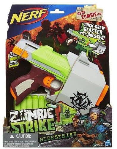 Kohl's: Nerf Zombie Strike Sidestrike by Hasbro As Low As $4 (Was $30) *HOT*