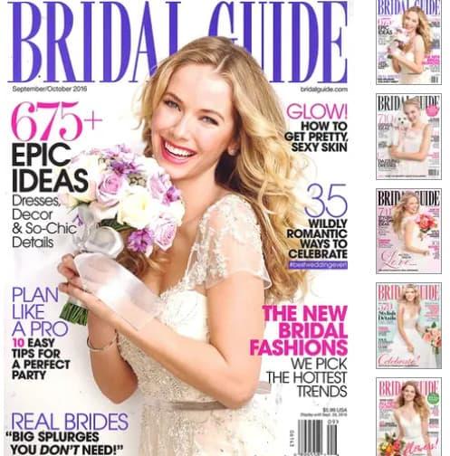 Bridal Guide Magazine Subscription .99