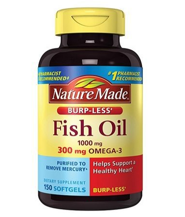 Nature Made Burp-less Fish Oil 150 Liquid Softgels Only $4.59 Shipped