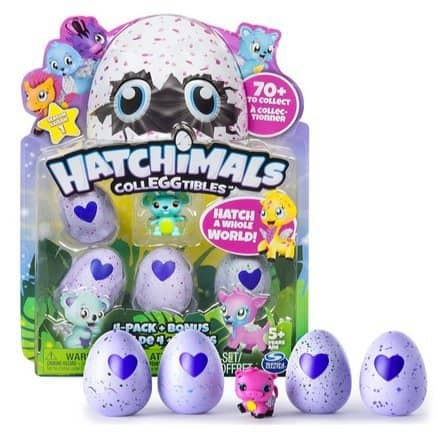 Hatchimals CollEGGtibles 4-Pack + Bonus Only $10.99