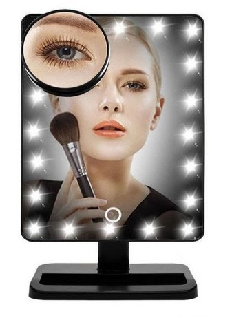 Touch Screen 20 LED Lighted Makeup Mirror $19.69 (Was $40)
