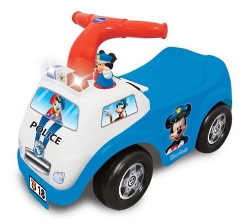 Disney Mickey Mouse Police Ride-On Only $16.35