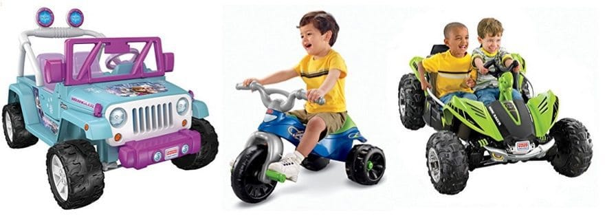Up to 34% Off Fisher Price Power Wheels **Today Only**