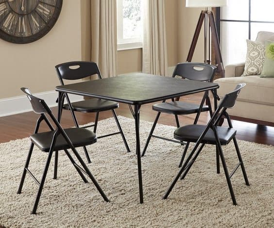 Cosco 5-Piece Folding Table and Chair Set Only $49.87