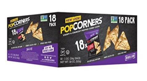 POPCORNERS Carnival Kettle Popped Corn Chips 18-Pack $6.23 (Only 35¢ per bag)