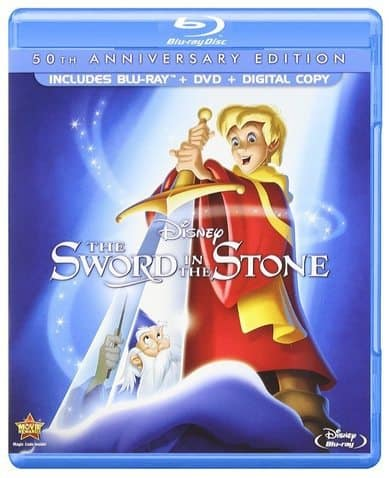 The Sword in the Stone Blu-ray Combo Only $9.99