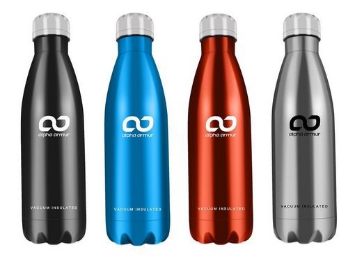 Alpha Armur Vacuum Insulated Water Bottle Only $8.99 **Today Only**