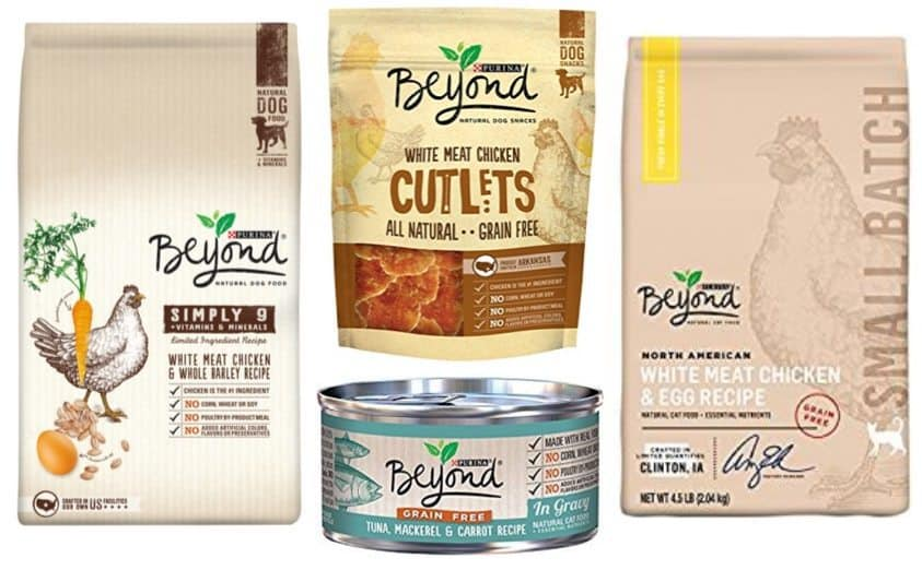 Up to 50% Off Purina Beyond Natural Dog & Cat Food