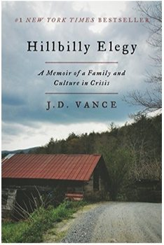Hillbilly Elegy: A Memoir of a Family and Culture in Crisis Kindle Edition $4.99 (Was $28) **Today Only**