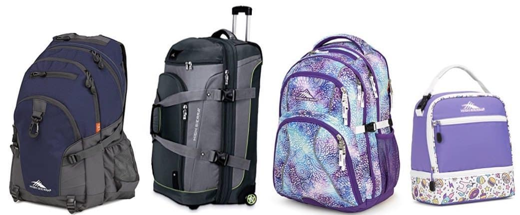 Up to 73% Off High Sierra Backpacks and Luggage **Today Only**