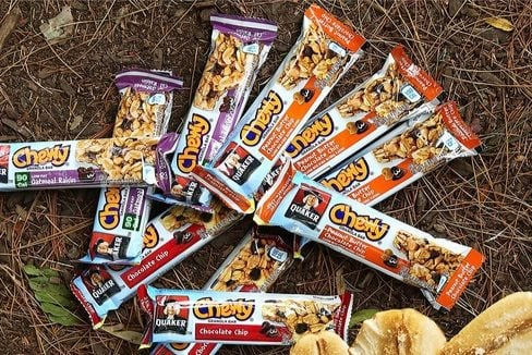 Quaker Chewy Granola Bars 58-Count Box $8.63 <br>**Only 15¢ Per Bar**