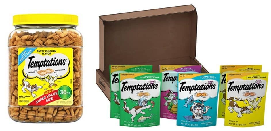 Up to 64% Off Temptations Cat Treats **Today Only**