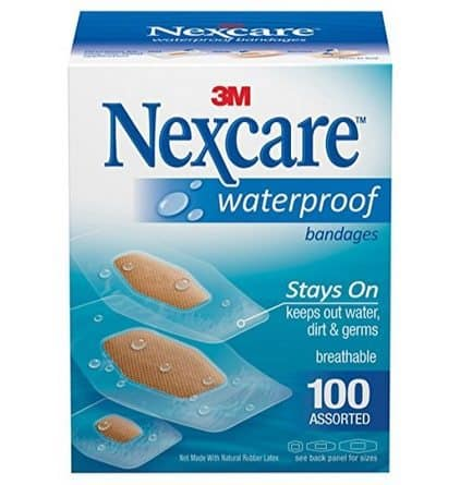 Nexcare Assorted Waterproof Bandages 100 Count $6.58