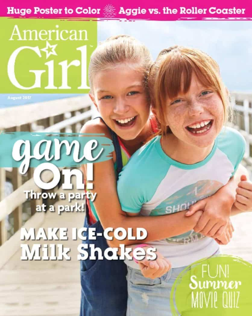 One Year Subscription to American Girl Magazine $14.95