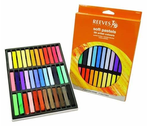 Reeves 36 Colors Soft Pastel Set Only $2.98