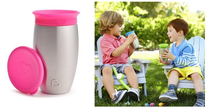 Munchkin Miracle Stainless Steel 360 Sippy Cup $9.52