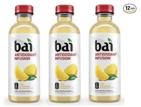 Bai Limu Lemonade Antioxidant Infused Beverages 12-Pack $10.31 Shipped **Only 86¢ Each**