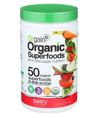 Orgain Organic Superfoods in Berry Only $12.31