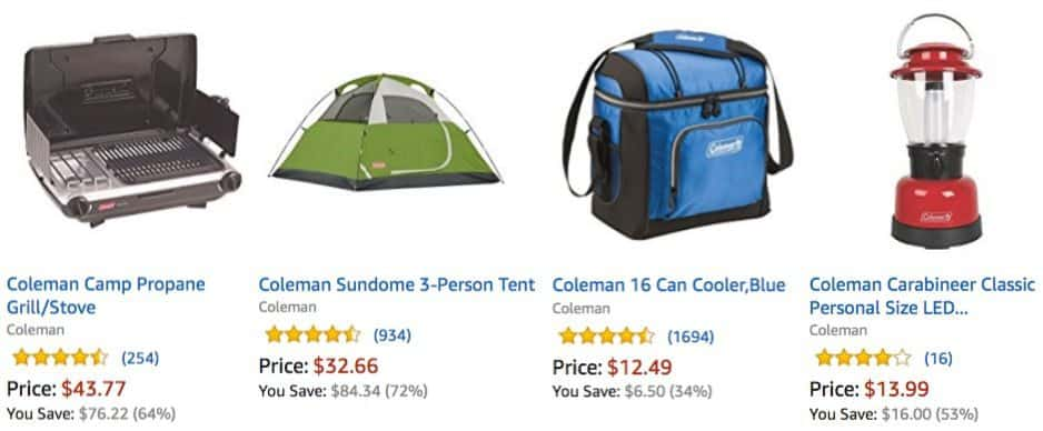 Up to 74% Off Coleman Father's Day Gifts & Summer Fun **Today Only**