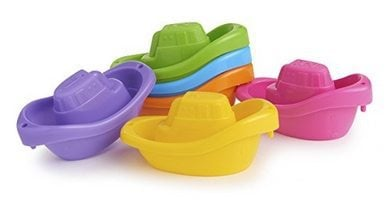 Munchkin Little Boat Train Bath Toy Only $3