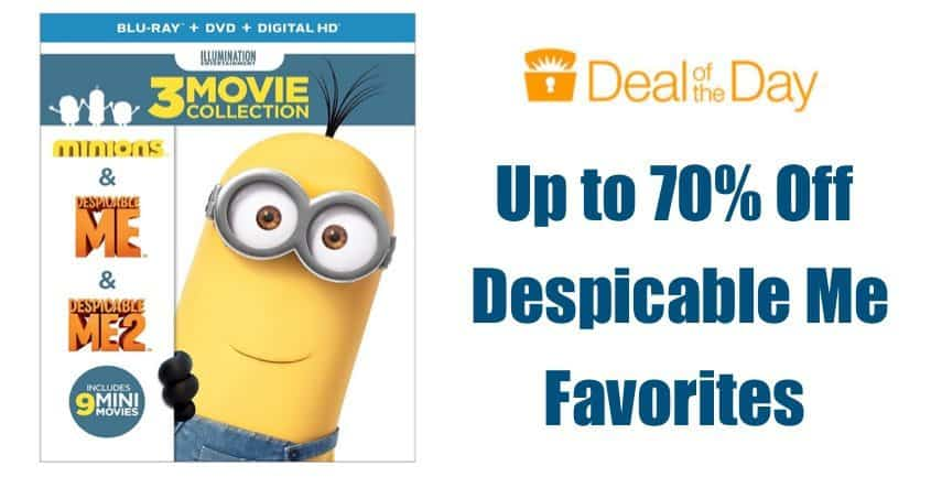 Up to 70% Off Despicable Me Favorites **Today Only**