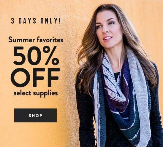 50% Off Craftsy Summer Crafting Supplies
