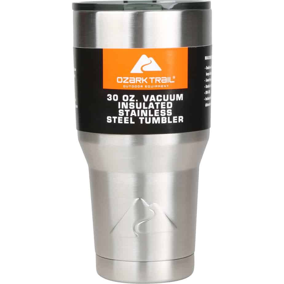 Ozark Trail 30oz Vacuum-Insulated Tumbler Only $8.74