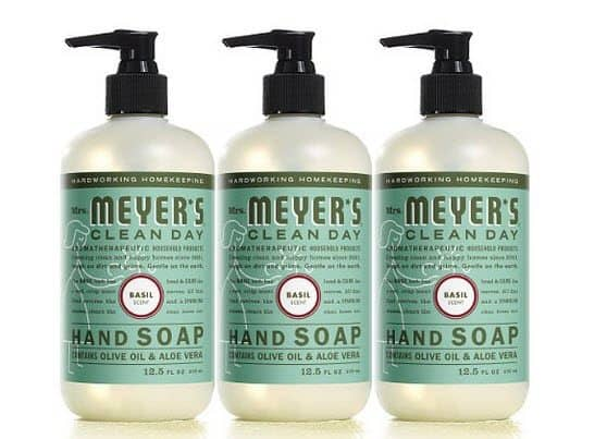 Amazon Prime Members: Mrs. Meyer's Liquid Hand Soap 3-Pack Only $7.60