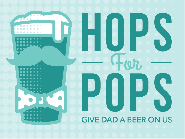 $5 Rebate on ANY Beer = Free Beer for Dad Tonight!