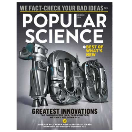 One Year to Popular Science Only .95