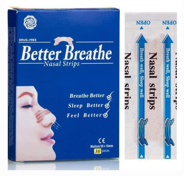 FREE Sample Pack of Snorebore Better Breathe Nasal Strips