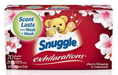 Snuggle Exhilarations Fabric Softener Dryer Sheets (70 Count Box) $2.82 Shipped