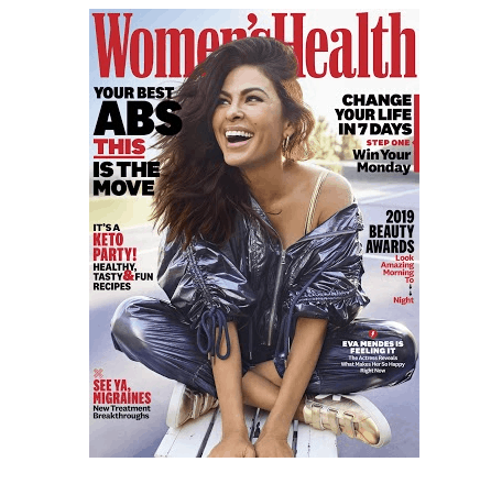 Free Two Year Subscription to Women's Health Magazine