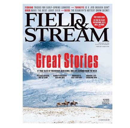FREE Field & Stream Magazine Subscription   1 Year Free