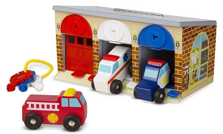 Melissa & Doug Lock and Roll Rescue Garage Only $12.99 (Was $25)