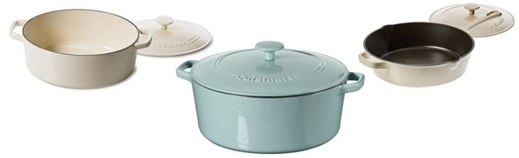 Up to 72% Off Cuisinart Cast Iron Cookware **Today Only**