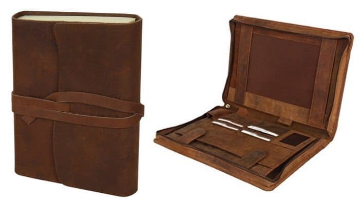 Up to 83% Off Leather Journals & Portfolios **Today Only**