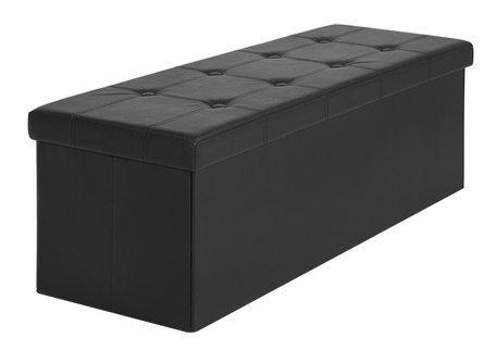 Large Folding Storage Ottoman Only $35.06
