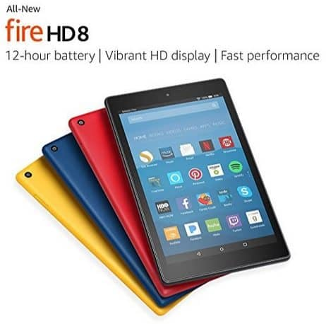 Fire HD 8 Tablet with Alexa $49.99 **Black Friday Price**