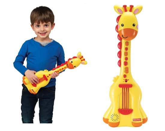 Fisher Price Music Giraffe Guitar Only $5.89 (Was $20)