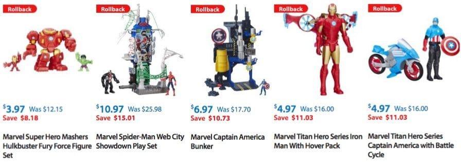 Marvel Spider-Man Rhino Rampage Play Set Only $3.97