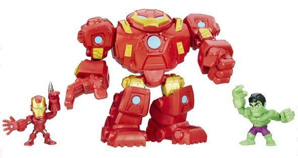 Marvel Super Hero Mashers Hulkbuster Fury Force Figure Set Only $2.97