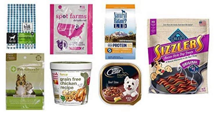 Dog Food and Treats Sample Box $11.99 + $11.99 Amazon Credit = FREE