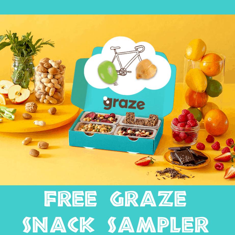 FREE Graze Snack Sampler + $1 Shipping *HOT*