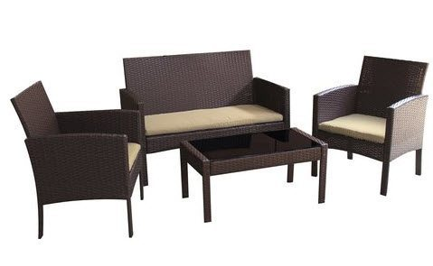 Marvelous Need new patio furniture Wayfair has the Sophia Piece Deep Seating Group with Cushions Set marked down from to shipped right now