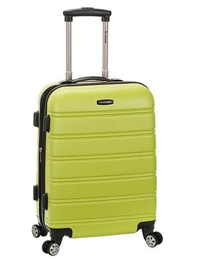 Rockland Melbourne 20-Inch Expandable Abs Carry On Luggage $28 (Was $120) #PrimeDay