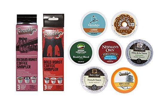 FREE K-Cups Coffee Sample Box
